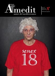 "AMEDIT MAGAZINE, n. 18 – Marzo2014. Cover ""Senex"" by Iano"