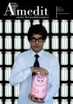 """Cover Amedit n° 19 - Giugno 2014, """"Barbatrucco"""" by Iano"""