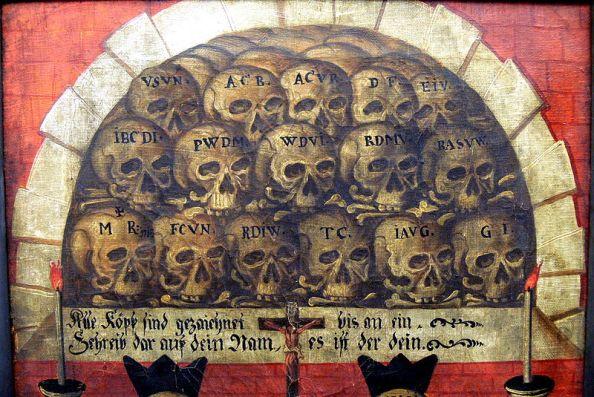 Memento mori (1694), Rattenberg (Tyrol), Augustine museum