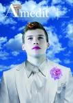 """Cover Amedit n° 23 – Giugno 2015 """"Il ragazzo dagli occhi di cielo"""" by Iano"""